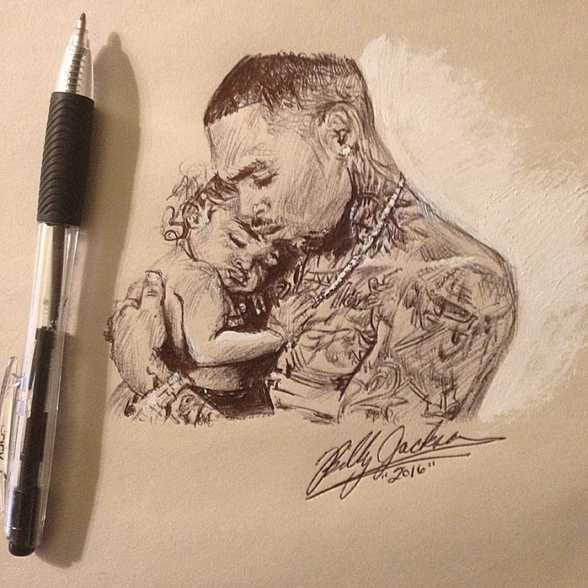 Chris Brown by billyhjackson